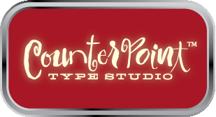 CounterPoint font Gallery